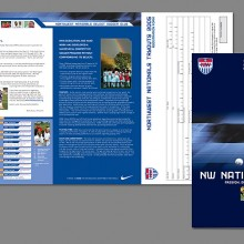Northwest Nationals Select Soccer Club Brochure - 2005 Tryouts