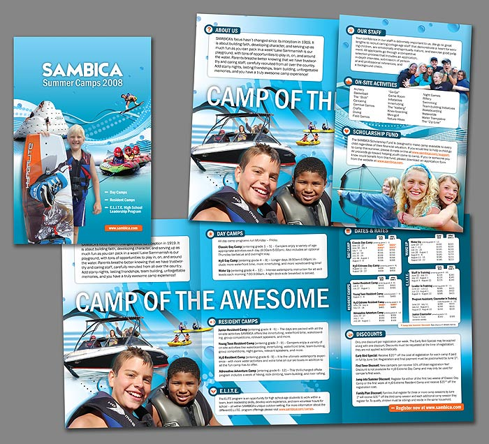 SAMBICA Summer Camp 2008 brochure