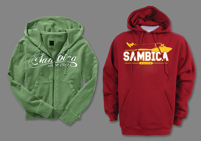 SAMBICA hoodies apparel design