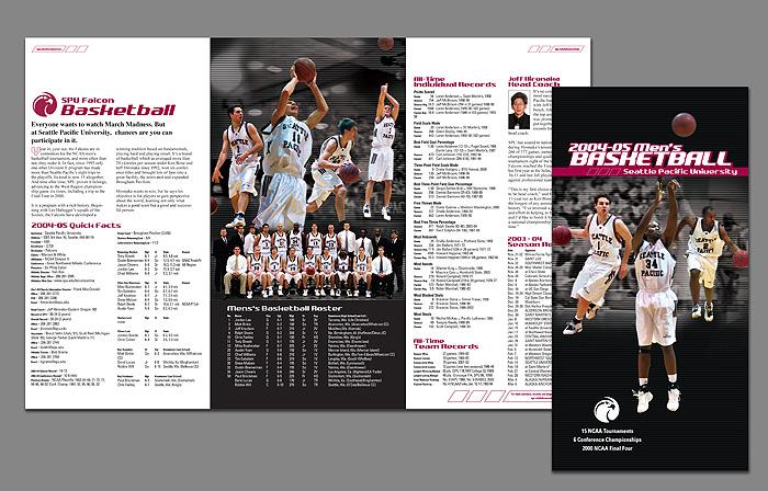 SPU Men's Basketball Media Guide 2005