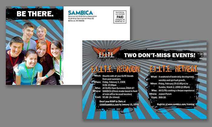 SAMBICA E.L.I.T.E. Reunion Retreat Postcard