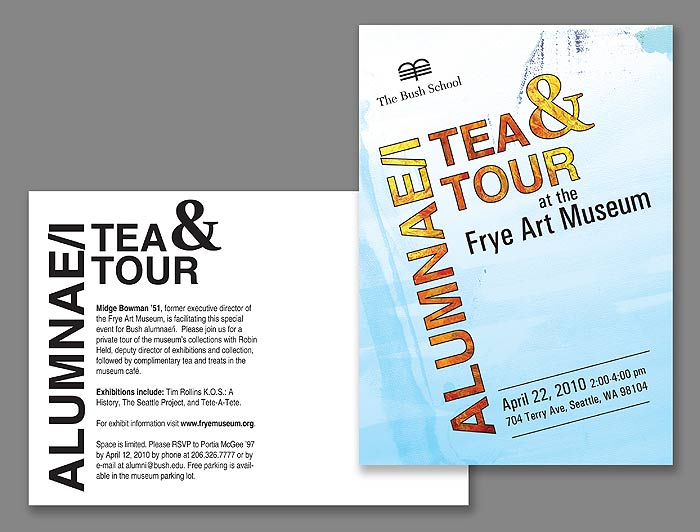 Bush Tea And Tour Postcard