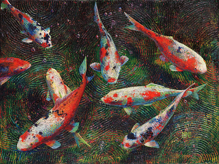 Koi fish danocreative the personal site for daniel for Koi artwork on canvas